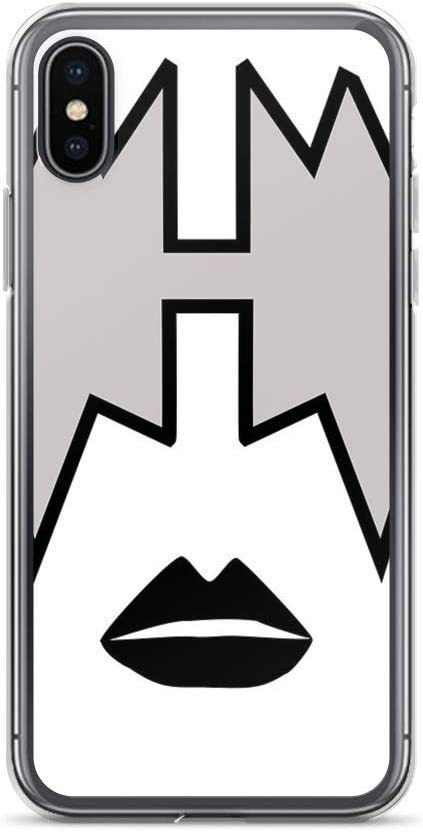 Ace Frehley from KISS Band, Spaceman Makeup Case Cover Compatible for iPhone (7/8)