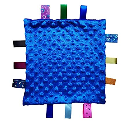 Tag consolador//Confort Seguridad Manta gran regalo para los ni/ños El ni/ño del ni/ño Beb/é Soft Touch Manta Manta con las etiquetas