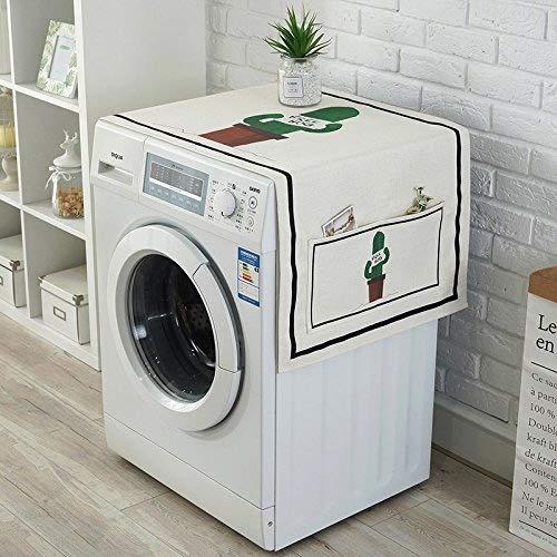 Funda de tela para lavadora estilo granja - algodón a prueba de ...