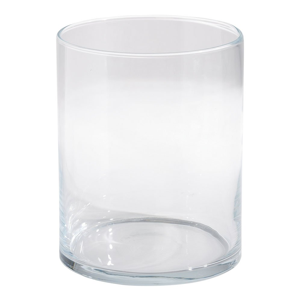Ethan Allen Glass Hurricane, Large
