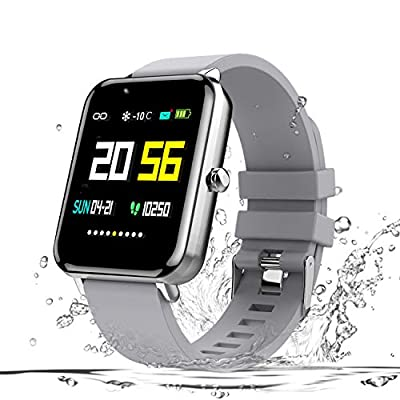 Zagzog Bluetooth Smart Watch:All-Day Heart Rate and Activity Tracking, Sleep Monitoring, Ultra-Long Battery Life, Bluetooth