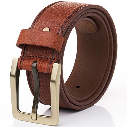 Hammer Anvil Mens Full Grain Leather 38 MM Casual Jean Belt