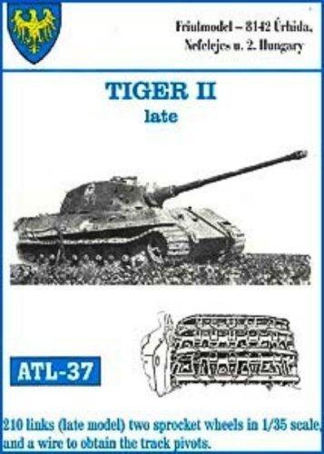 Friulmodel ATL37 1/35 Metal Track w/Drive Sprockets for KingTiger Mar-Apr  1945