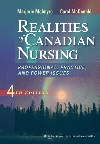 Realities of Canadian Nursing Pdf