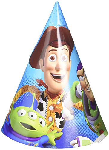 Amscan Toy Story Paper 634; Cone Hats (8 -