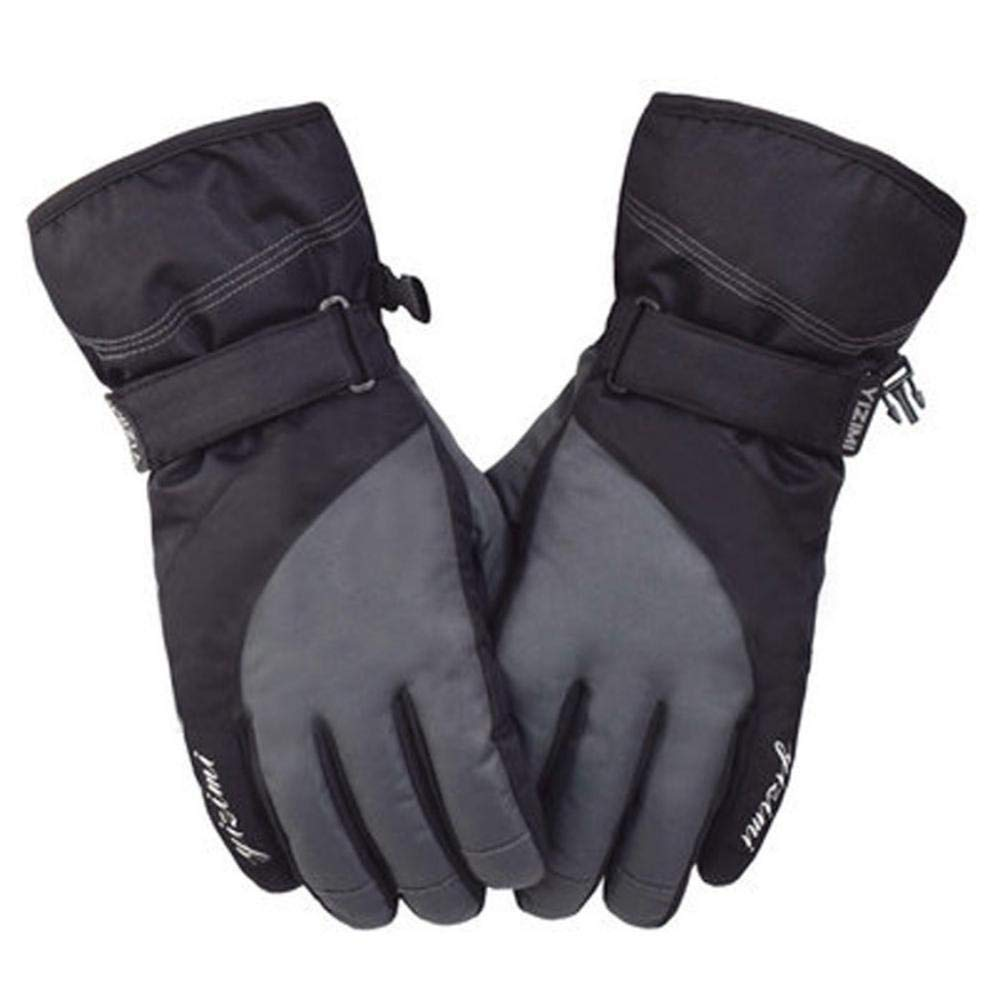 Winter Ski Windproof Gloves Men Winter Outdoor Plus Velvet Thickened Warm Motorcycle Slip Wear Waterproof Gloves Topaty®