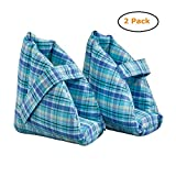 Foot Pillows/Heel Protectors Plaid - Size -One Size - Pack of 2