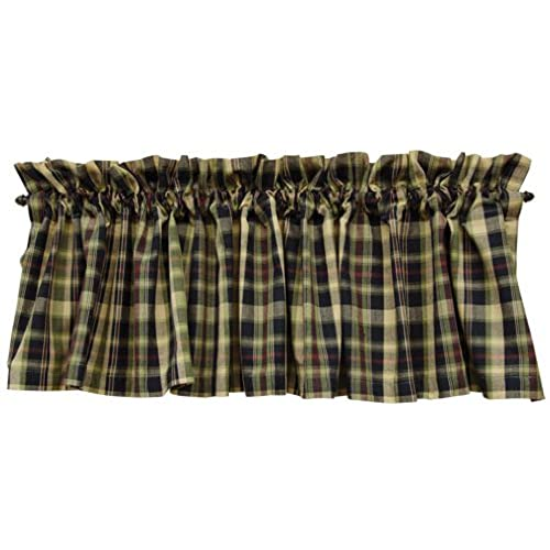 Country Kitchen Curtains Amazon Com: Country Plaid Cafe Curtains: Amazon.com