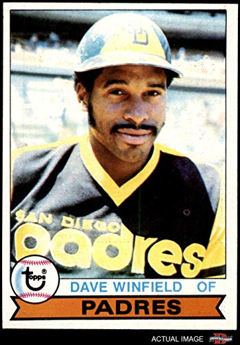1979 Topps # 30 Dave Winfield San Diego Padres (Baseball Card) Dean's Cards 5 - EX - Winfield Memorabilia Dave