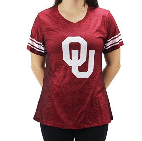 Creative Apparel Women' s NCAA Oklahoma Sooners V-neck (Oklahoma Lady Sooners Basketball)