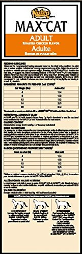 NUTRO MAX CAT Adult Dry Cat Food, Roasted Chicken, (1) 6 lbs.; Rich in Nutrients and Full of Flavor; Supports Healthy Joints & Healthy Skin and Coat