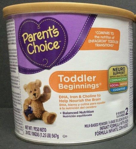 Parent's Choice Toddlers Beginnings Powder Formula, 20 Oz