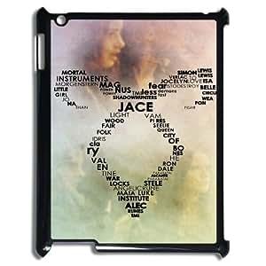 DIY iPad2,3,4 Case, Zyoux Custom New Fashion iPad2,3,4 Cover Case - The Mortal Instruments City of Bones