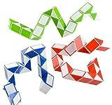 Toys : Neliblu Sensory Fidget Snake Cube Twist Puzzle, Set of 3