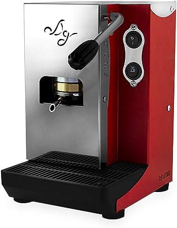 Aroma Plus – Máquina de café monodosis papel ese 44 mm (rojo): Amazon.es: Hogar
