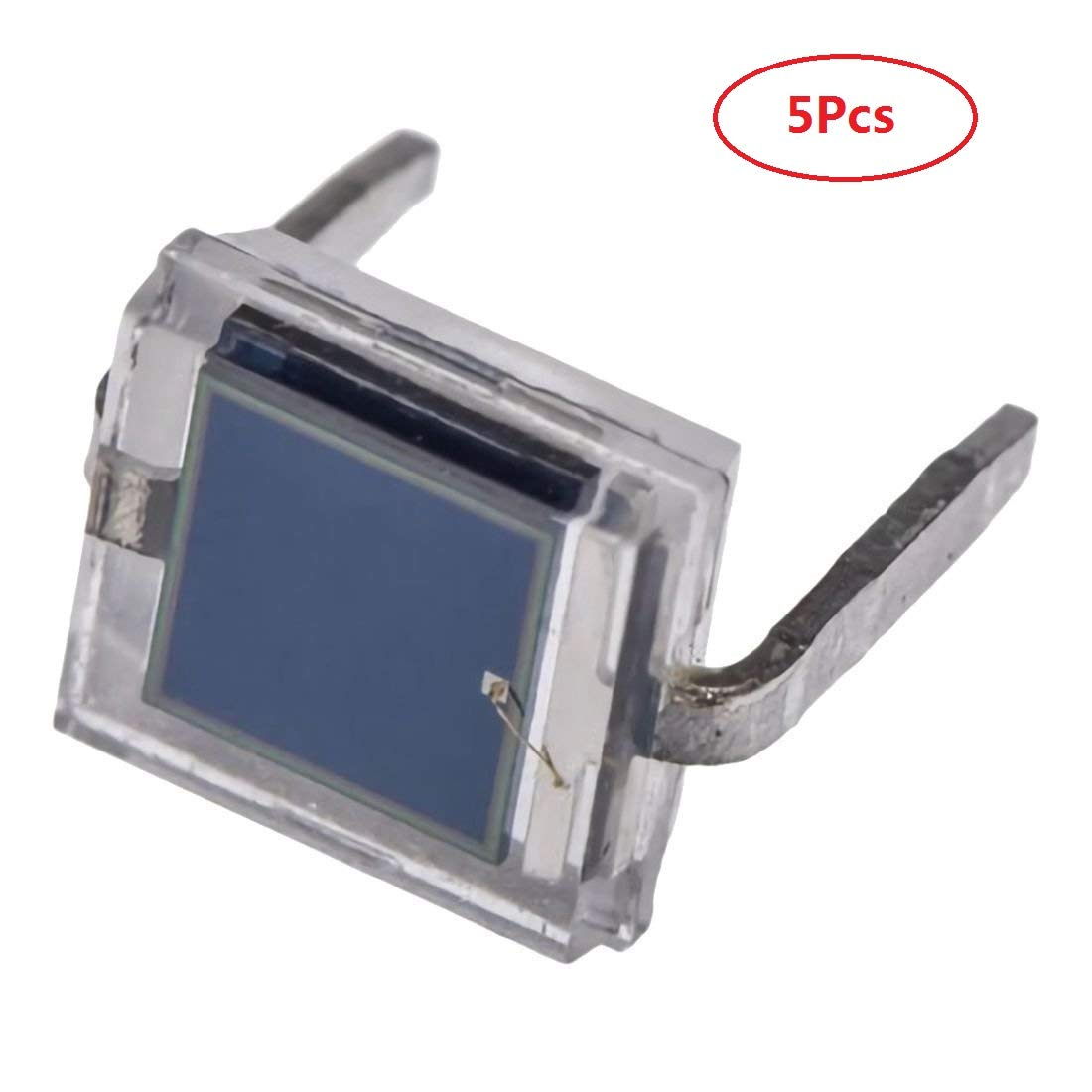 5pcs NEW BPW34 Silicon PIN Photodiode DIP-2