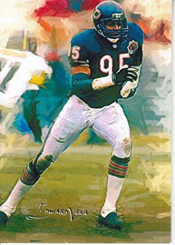 Richard Dent #1- #6/25 - VERY RARE - Chicago Bears -SUPER BOWL -HALL OF FAME- Limited Edition Original Artwork Sketch Card