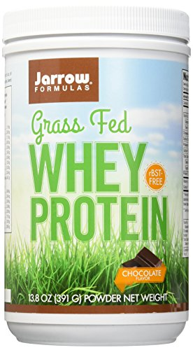 Jarrow Formulas Whey Protein Grass Fed, Sports Nutrition, Chocolate, 391 g by Jarrow