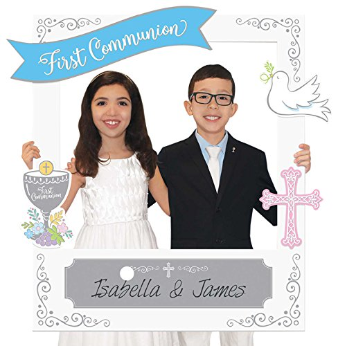 Giant Customizable First Communion Photo Frame Kit