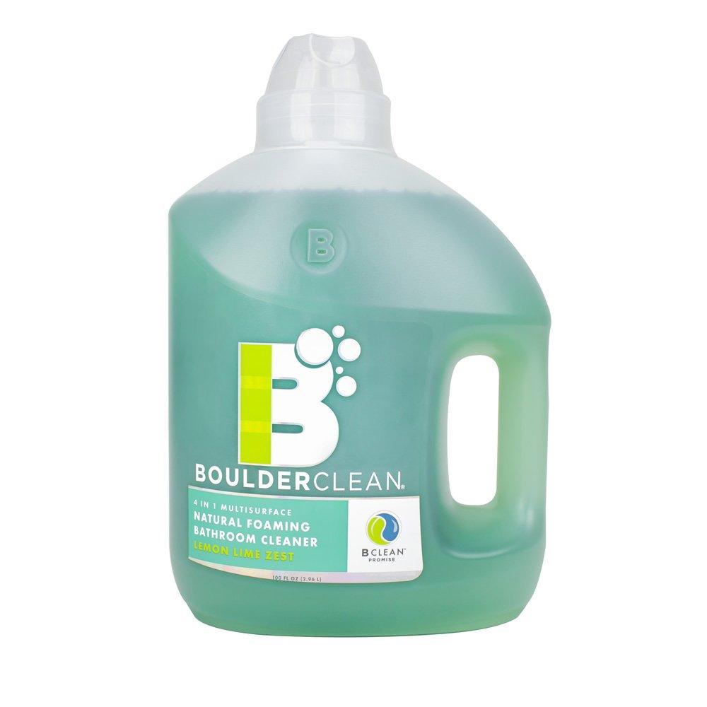 Boulder Clean Natural Foaming Bathroom Cleaner Refill, Lemon Lime Zest, 100 Fluid Ounce