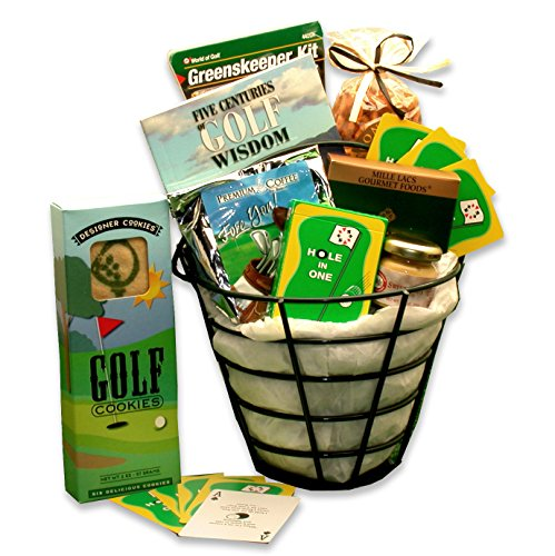 - Golf Lovers Golfing Caddy Golf Gift Basket