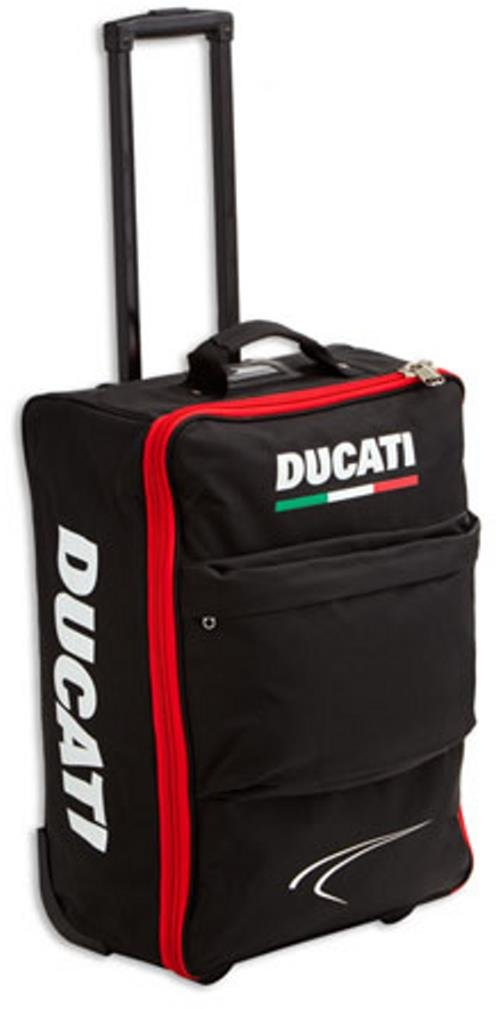 df5f56b24e1a hot sale Ducati Corse Carry-On Luggage Roller Bag Black 987694007 ...