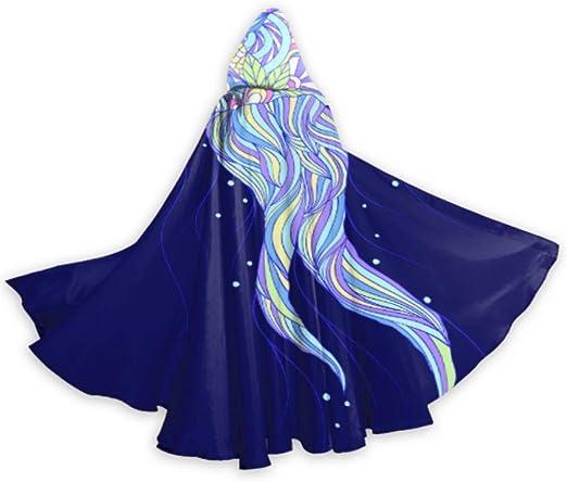 ZHANGhome Capa de Criatura de Medusa de Color Vestido de Capa Capa ...