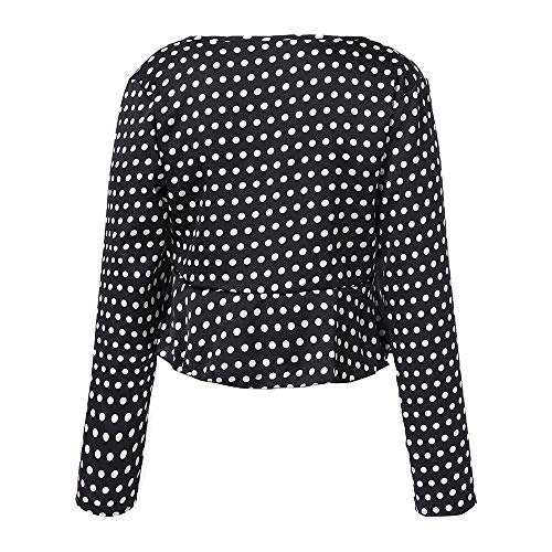 Causal Manches Ladies Col Longues Chic Blouse V Shirts Chemisie Tops Noir pour Sexy YUAFOAE Poisr A Amples BohMe Femme SoirE CP6fxc0qw