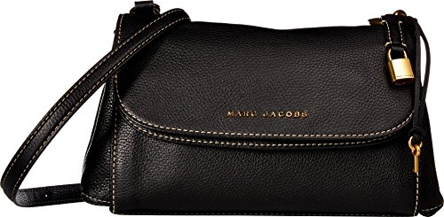 Marc Jacobs Women's Boho Grind Shoulder Bag, Black/Gold, One Size ()