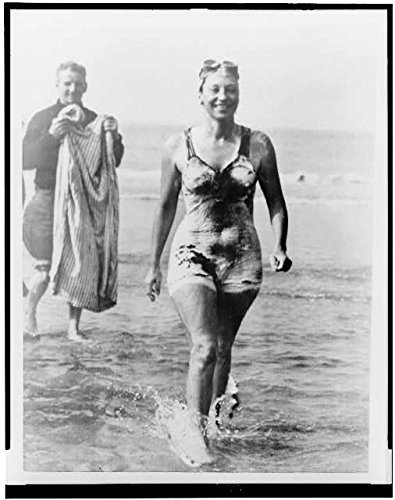 HistoricalFindings Photo: Florence Chadwick,First Woman to Swim English Channel in Both Directions,1951