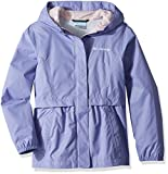 Columbia Big Girls' Pardon My Trench Rain Jacket, Fairytale, L
