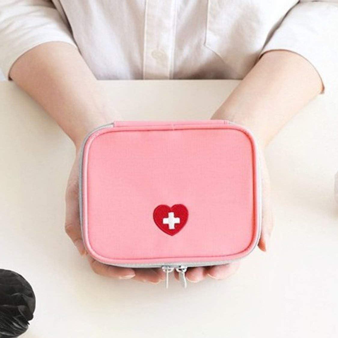 Mini Outdoor Verbandskasten Tasche Reise Tragbare Medizin Paket Notfall Kit Taschen Pille Aufbewahrungstasche Kleine Veranstalter