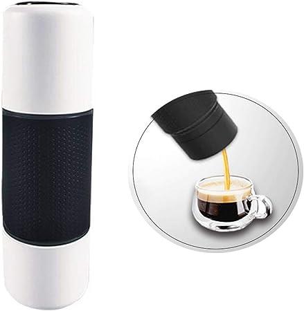 Máquina de Café Manual Portátil, Multifuncion Mini Cafetera Espresso para Viajes en el Hogar Oficina Camping al Aire Libre: Amazon.es: Hogar