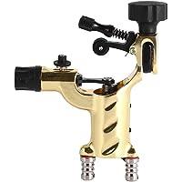 Vbestlife Maquina para Tatuar - Máquina Rotatoria de la libélula del Tatuaje Shader y Trazador de Líneas Kits de Pistola de Tatuaje del Motor Herramienta de Maquillaje RCA Cord Artist ( Amarillo)
