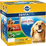 Pedigree DentaStix Dog Treats Variety Pack, 62 ct. (3.34 lbs.) (3.34 lbs. Pack of 3)