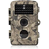 Distianert 12MP 720P Infrared Game&Trail Camera Deer Camera Low Glow Night Vision 65ft Waterproof IP56 with 34pcs 850nm IR LEDs 2 Year Warranty