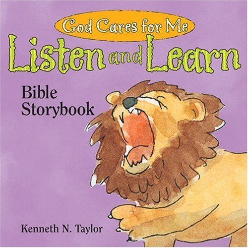 God Cares for Me: Listen and Learn Bible Storybook (Interactive Board Books) by Kenneth N. Taylor (2002-12-31)