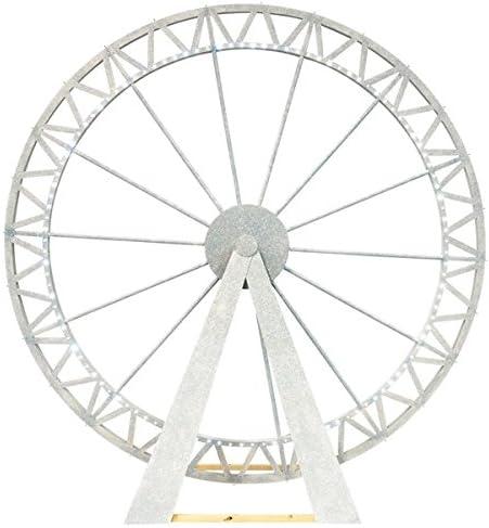 Breathtaking Paris Ferrisホイールキット – 9フィート、6インチ高X 9フィート、4インチ幅X 4フィートDeep