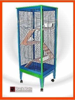 Amazon.com: Posh Pets Chinchilla All Metal Jaula Degu Rata ...