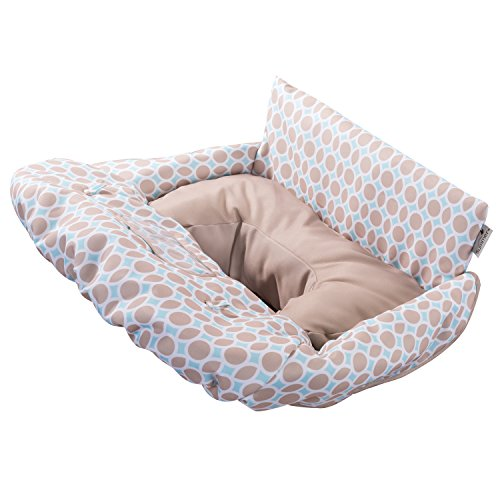 Summer Infant 2-in-1 Cushy Cart Cover and Seat Positioner, Dots and (Infant Cover)