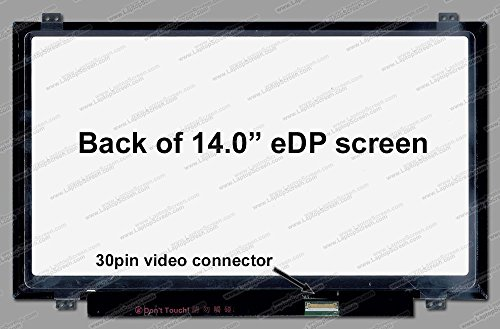 (AUO B140HAN01.3 72% Gamut 16.2M Colors Wide View New Replacement LCD Screen for Laptop LED Full HD Matte )