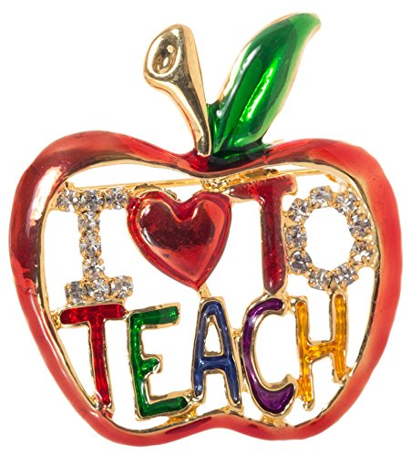 Pin Teacher Brooch -