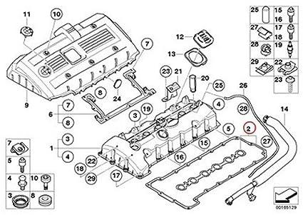 Amazon Com Bmw Oem Engine Cylinder Head Valve Cover Gasket Set E60n