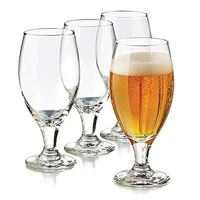 Libbey Perfect 4 Piece Hard Cider Granny Smith Drinkware Set, Clear