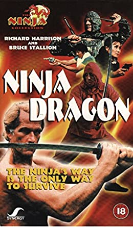 Amazon.com: Ninja Dragon [VHS]: Richard Harrison, Paulo ...