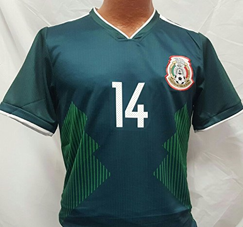 New! Men's Chicharito Mexico National Team Generic Replica Jersey 2018 Size - Mexico Team Jersey