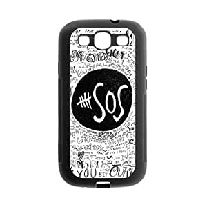 Danny Store 5SOS Protective TPU Gel Rubber Back Fits Cover Case for SamSung Galaxy S3 by icecream design