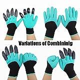 HAODE FASHION 2 Pairs Garden Genie Gloves with