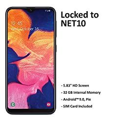 Image of the product Net10 Samsung Galaxy A10e that is listed on the catalogue brand of Net10.