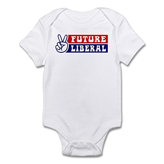 3e5cd0bbf Amazon.com  CafePress FUTURE LIBERAL Infant Creeper Baby Bodysuit ...